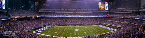 """Sunday Night Football"" Indianapolis Colts Panoramic Poster"