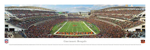 Cincinnati Bengals at Paul Brown Stadium Panorama Poster