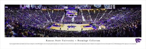 Kansas State Wildcats at the Bramlage Coliseum Panorama Poster