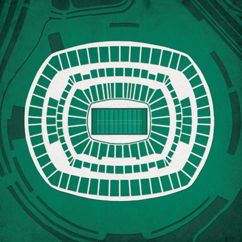 MetLife Stadium - New York Jets City Print
