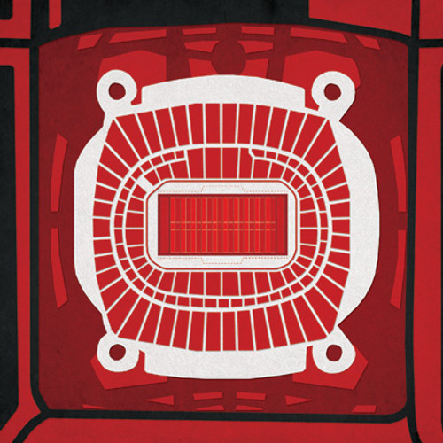 Arrowhead Stadium - Kansas City Chiefs City Print