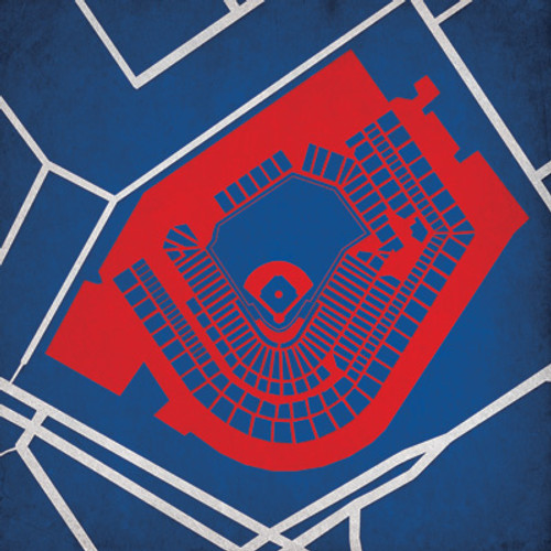 Progressive Field - Cleveland Indians City Print
