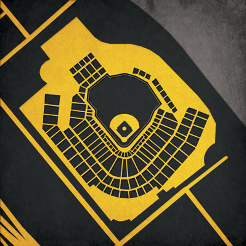 PNC Park - Pittsburgh Pirates City Print