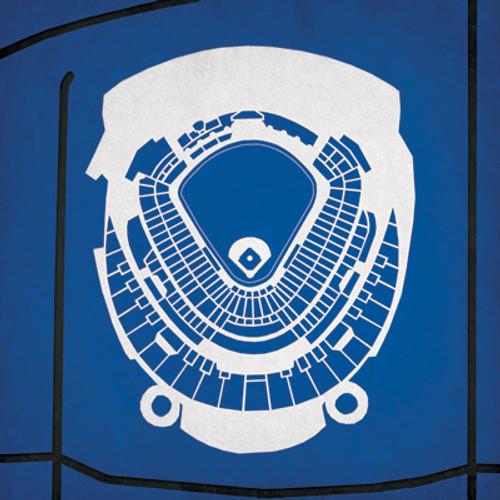 Kauffman Stadium - Kansas City Royals City Print