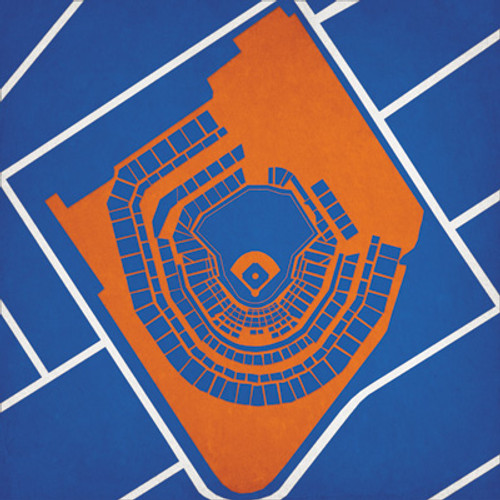 Citi Field - New York Mets City Print