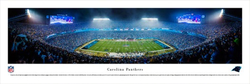Carolina Panthers at Bank of America Stadium Panorama Poster