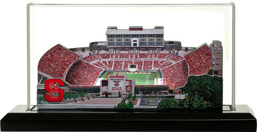 NC State Wolfpack/Carter Finley Stadium 3D Stadium Replica