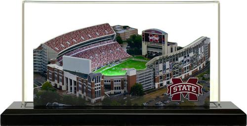 Mississippi State Bulldogs/Scott Field 3D Stadium Replica
