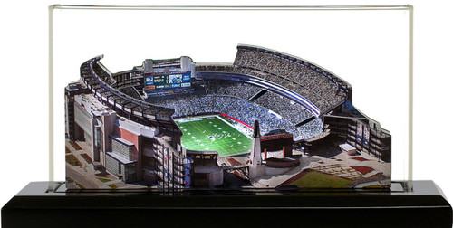 Gillette Stadium New England Patriots 3D Stadium Replica