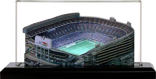 Mile High Stadium Denver Broncos 3D Stadium Replica