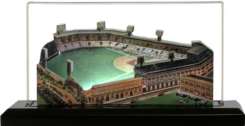 Forbes Field Pittsburgh Pirates 3D Ballpark Replica