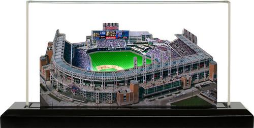 Progressive Field Cleveland Indians 3D Ballpark Replica