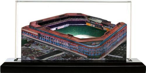 Ebbets Field Brooklyn Dodgers 3D Ballpark Replica