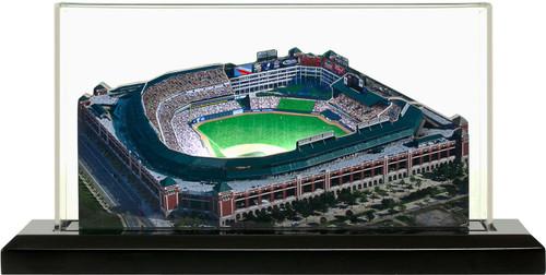 Globe Life Park Texas Rangers 3D Ballpark Replica