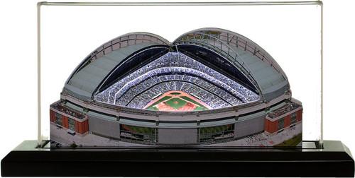 Miller Park Milwaukee Brewers 3D Ballpark Replica