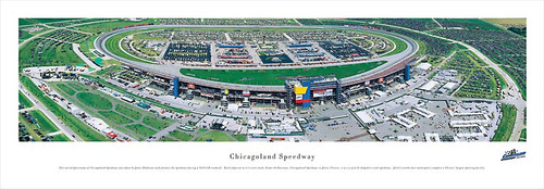 Chicagoland Speedway Panoramic Poster