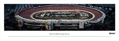 Bristol Motor Speedway (Night) Panoramic Poster