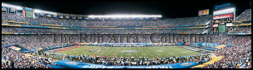 """Super Bowl XXXVII"" Tampa Bay Buccaneers Panoramic Poster"