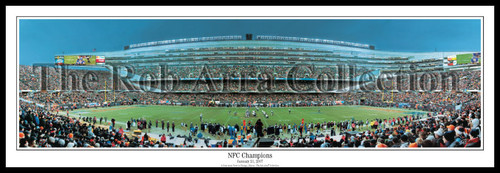 """NFC Champions"" Chicago Bears Panoramic Poster"