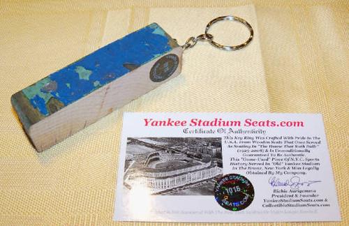 Old Yankee Stadium Seat Slim Keyring
