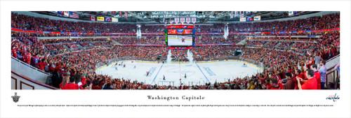 Washington Capitals at Verizon Center Panoramic Poster
