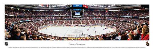 Ottawa Senators at Scotiabank Place Panoramic Poster