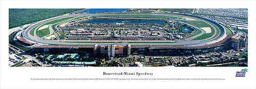 Homestead-Miami Speedway Panoramic Poster