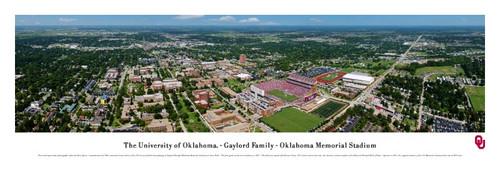 Oklahoma Sooners at Memorial Stadium Panoramic Poster