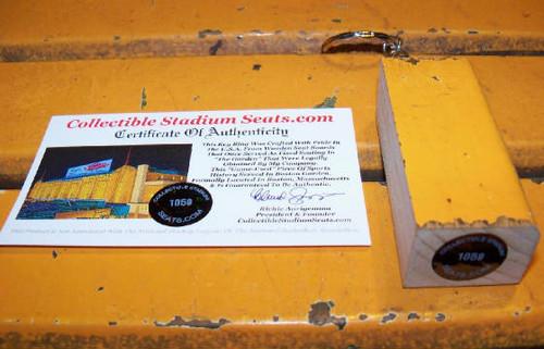 Boston Garden Seat Slim Keyring