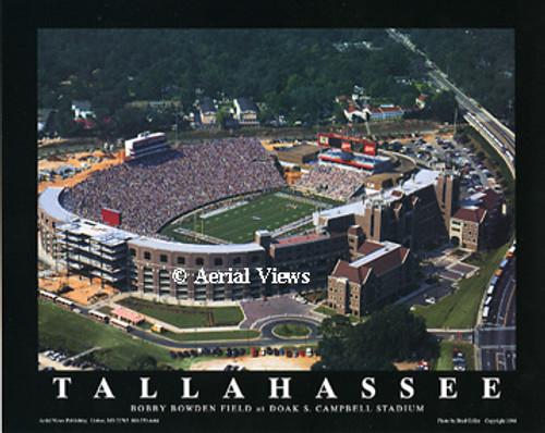 Doak Campbell Stadium Aerial Poster