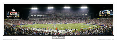 """""""Monday Night Football"""" Tennessee Titans Panoramic Poster"""