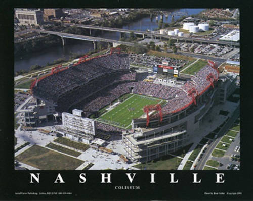 Nissan Stadium Aerial Poster