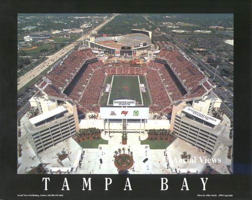 Raymond James Stadium Aerial Poster