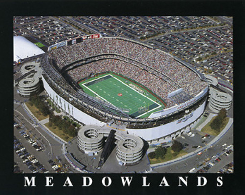 Giants Stadium New York Jets Aerial Poster