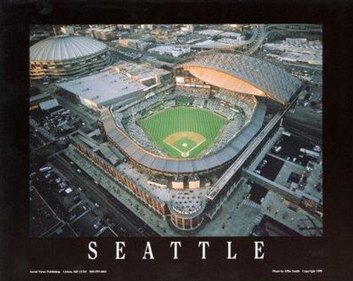 Safeco Field Aerial Poster
