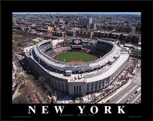 Yankee Stadium Aerial Poster