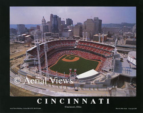 Great American Ball Park Aerial Poster