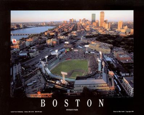 Fenway Park Aerial Poster