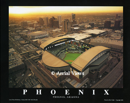 Chase Field Aerial Poster