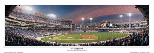 """""""Top of the Fifth"""" Chicago White Sox Panoramic Framed Poster"""