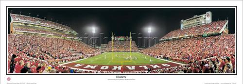 """""""Sooners"""" Oklahoma Sooners Panoramic Poster"""