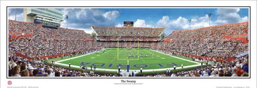"""""""The Swamp"""" Florida Gators Panoramic Poster"""