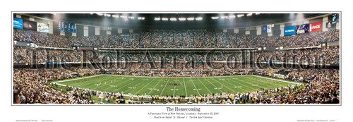 """The Homecoming"" New Orleans Saints Panoramic Poster"