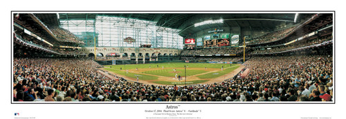 """Astros"" Houston Astros at Minute Maid Park Panoramic Poster"