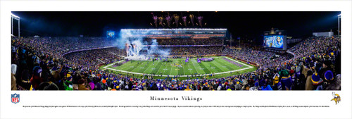 Minnesota Vikings at TCF Bank Stadium Panorama Poster