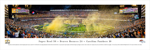Super Bowl 50 at Levi's Stadium Panoramic Poster