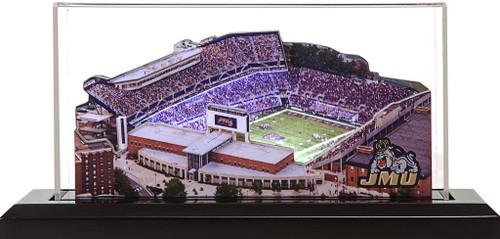 James Madison Dukes - Bridgeforth Stadium 3D Stadium Replica