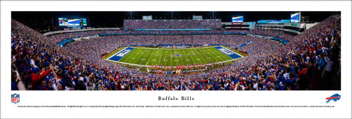 Buffalo Bills at New Era Field Panorama Poster