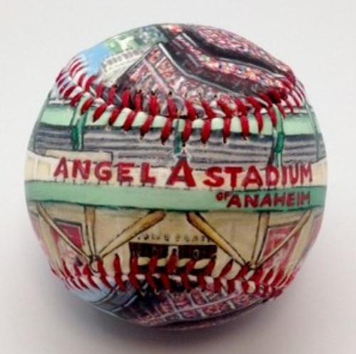 Angel Stadium Baseball