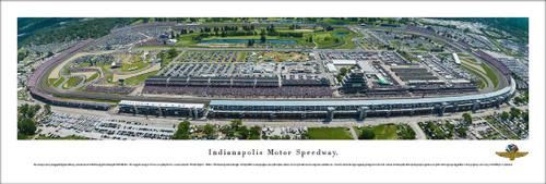 Indianapolis Motor Speedway Aerial Panorama Poster